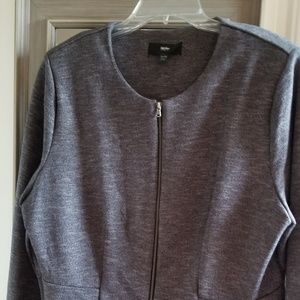 Mossimo Gray Jacket Blazer Sz XL